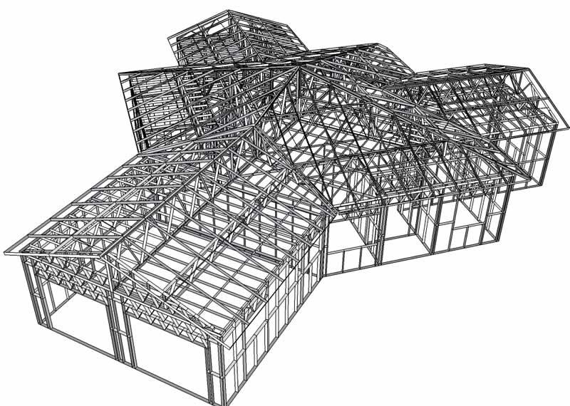 طراحی سازه lsf